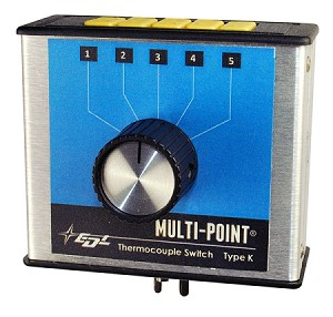 Multi-Point 5-Zone Thermocouple Switch