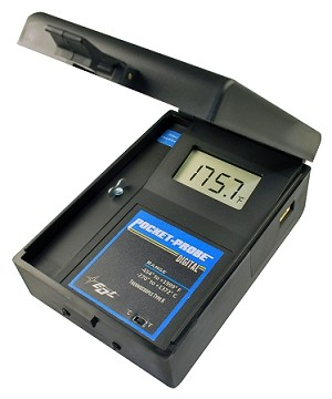 Pocket-Probe Digital Pyrometer